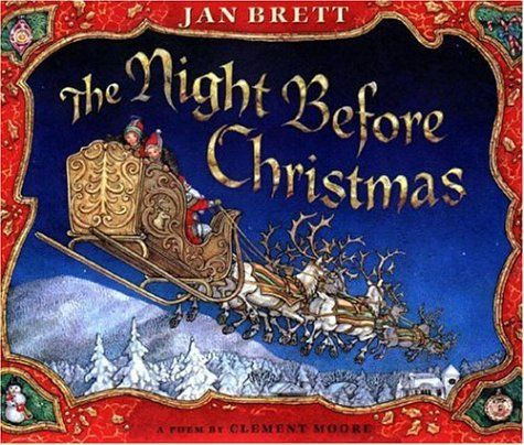 The Night Before Christmas by Clement Moore. A cute and beloved poem that's been considered a classic for many years. Told from the point of view of a father from an everyman family, the book details everything that happened on one Christmas Eve when the man (the narrator) and his family saw Santa arrive at their home, deliver their gifts and then leave. As Santa leaves he wishes everyone a very Happy Christmas. A true and beloved Christmas classic for ages eight and above.