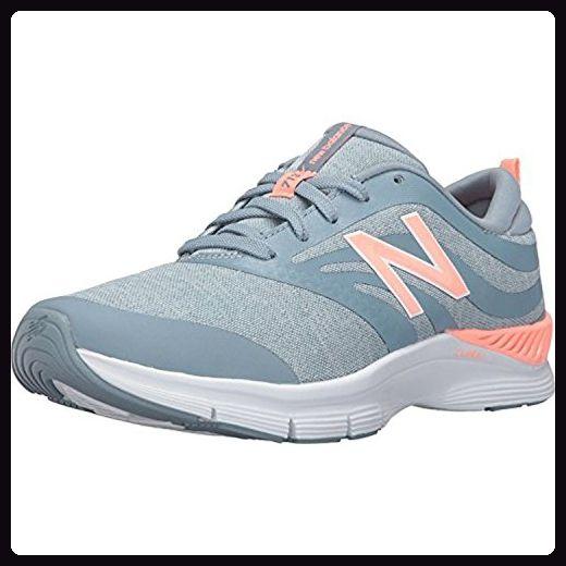 New Balance Women's WX713 Grey/Coral Sneaker 12 B (M) - Sneakers für frauen (*Partner-Link)