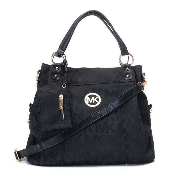 Michael Kors Outlet Coupons Cyber Monday Grayson Canvas Totes Black