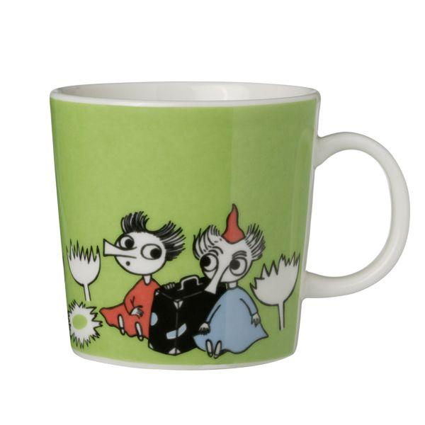 Moomin mug Thingumy and Bob, lime