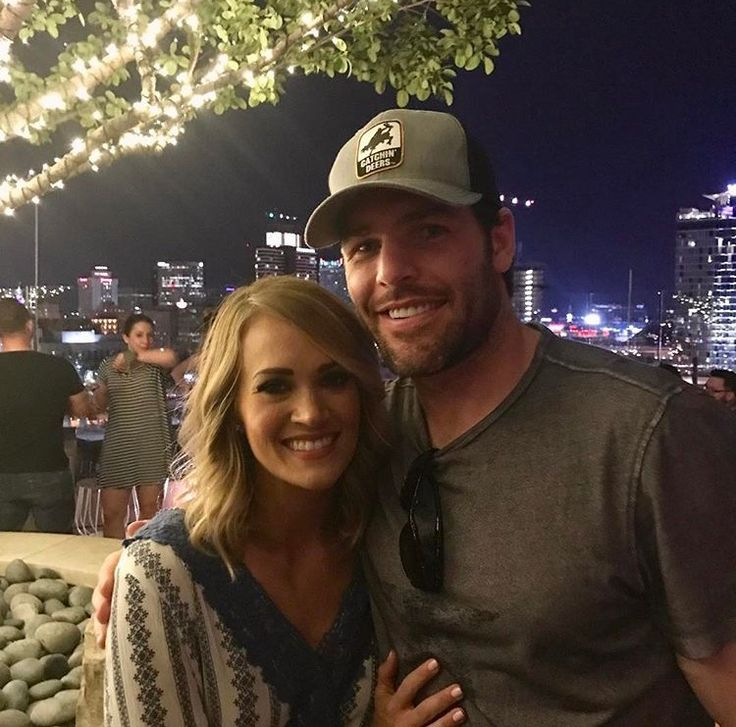 Carrie Underwood and Mike Fisher celebrating the players wives and the Preds for an amazing season! Photo Credit:@carrieunderwood