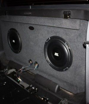 2001-2013 Chevy Avalanche Sub Box