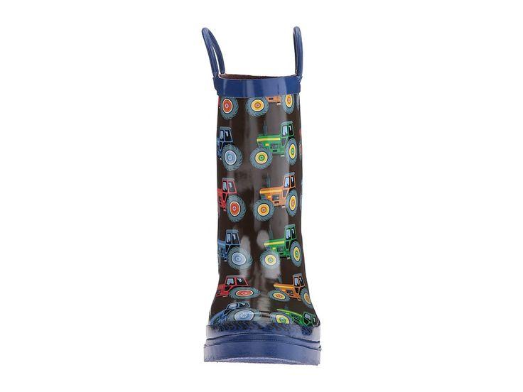 M&F Western Kye (Toddler/Little Kid/Big Kid) Men's Rain Boots Blue