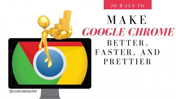 Learn how to make Google Chrome faster. Learn how to use it better. Learn how to customize Google Chrome and make it prettier. Here, I've broken down Google Chrome basics into small videos. I've included extension links here too. Use the ones that help you the most with your students or others. Or, you can […]