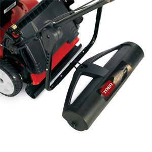 Toro Lawn Striper: Create patterns like the pros with Toro's Lawn Striping System. Easily attaches to most walk-behind mowers and can be used with and without the bagger attached. All you need is a Phillips screwdriver and 20 lbs of dry sand. Mow and stripe at the same time, it's that easy.