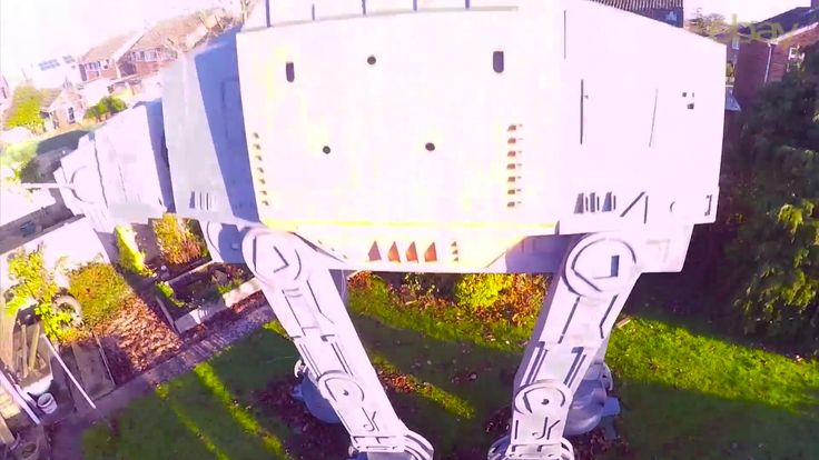 ...is this the most incredible Star Wars Surprise EVER? To celebrate the release of the latest Star Wars movie 'Rogue One: A Star Wars Story'; we challenged YouTuber Colin Furze to build one of his most ambitious projects to date: The Garden Star Wars AT-ACT.  The materials used to the construct the AT-ACT were all bought from eBay.   Browse the 'Star Wars' collection on eBay: https://www.ebay.co.uk/rpp/star-wars