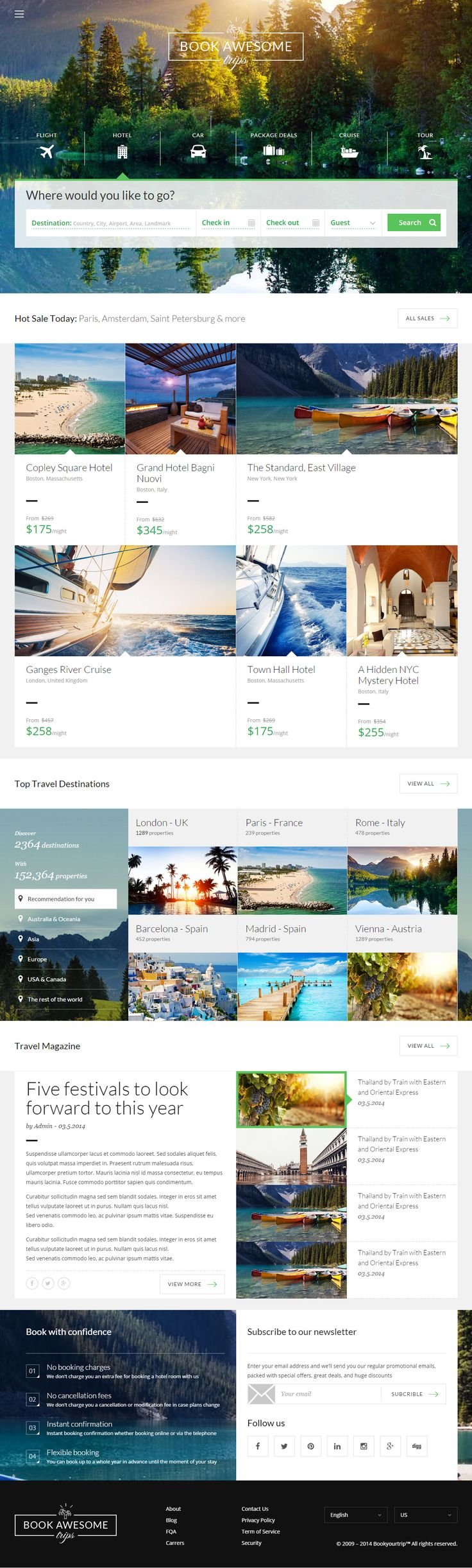 Book Awesome Trip is Premium full Responsive HTML5 Booking Template. Retina Ready. Bootstrap Framework. Parallax Scrolling. Test free demo at: http://www.responsivemiracle.com/cms/book-awesome-trip-premium-responsive-travel-booking-html5-template/