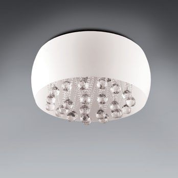 SALON NAD KANAPĄ Lampa Moonlight plafon white duży MAXlight lampy - oświetlenie domu