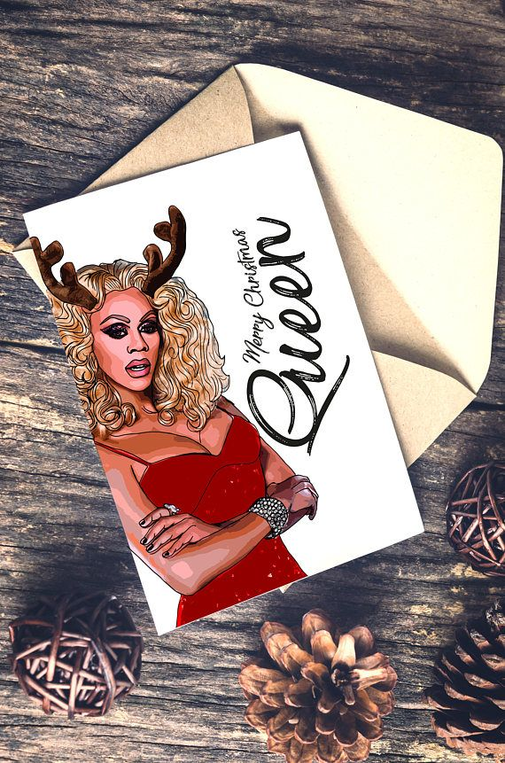 RuPaul Drag Race Christmas Card