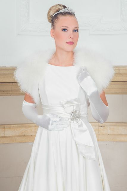 Our Hollywood Princess www.gilingandwhitebridal.co.uk