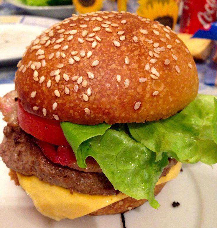 Panini hamburger Home-Made