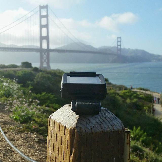 Awesome view of the Golden Gate Bridge in San Francisco from REMOVU ambassador @jeremysciarappa #GoPro #TeamREMOVU by removu