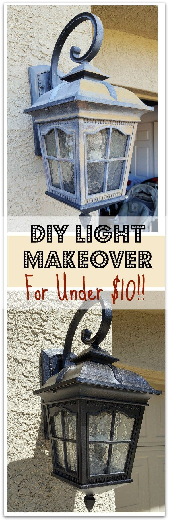 A quick, easy, and frugal way to update your outdoor lighting!  Check out the…