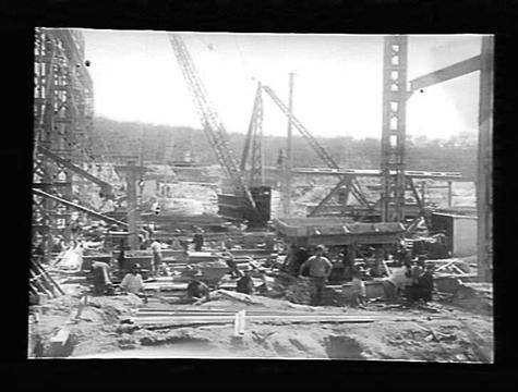 Oct 1922 SEC, Yallourn 'A' Power Station Victoria Negative - Glass