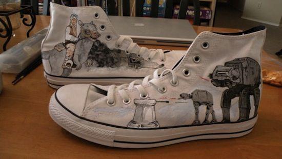 Star Wars AT-AT Converse High Tops