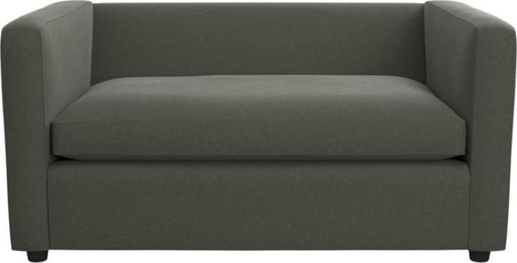 movie twin sleeper sofa (Textured Microfiber)