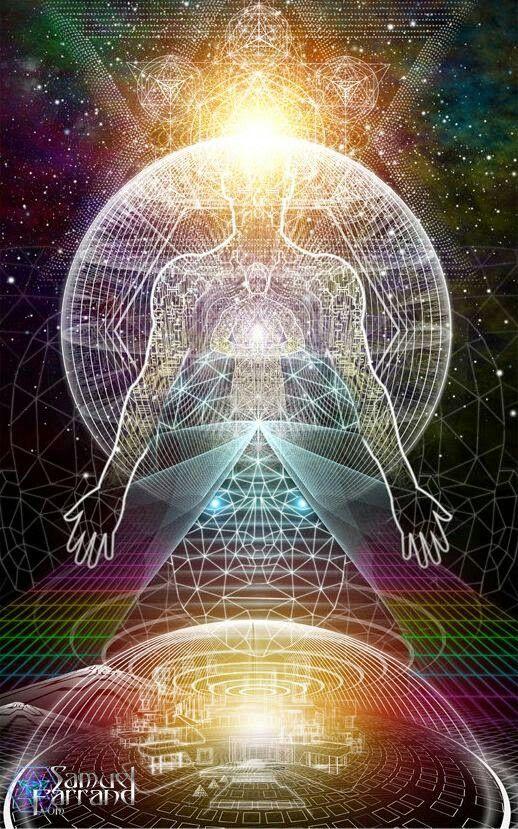 Resultado de imagen para psychedelic consciousness chakras samuel farrand