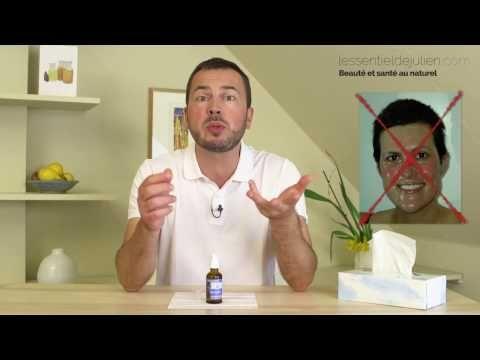 Comment masser de l huile sur le visage?
