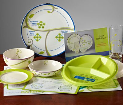 how to get a portion control plate from saxenda