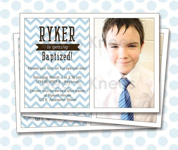 The 40 best Baptism (LDS) Card Templates images on Pinterest ...