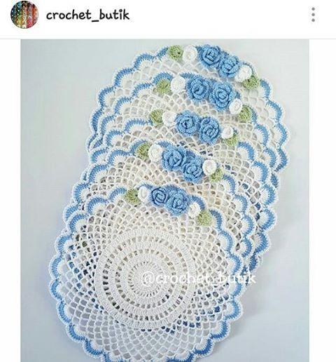 Oiii.. . . Olhem que belissíma inspiração para nós crocheteiras..😍😍 . . #repost - @crochet_butik . . Ameiiiii. 💟💕