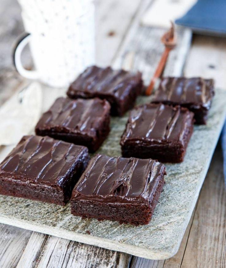 recept på brownie