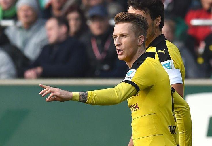 Bilder der Partie Bremen gegen Dortmund.