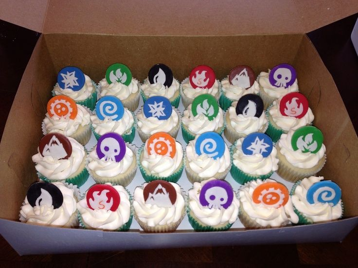 16 best Cupcake Design for Skylander cupcakes images on Pinterest