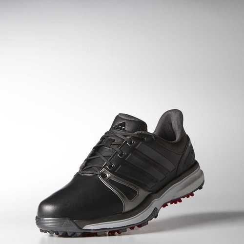 adidas Golf adipower Boost 2 Golf Shoes Black/Silver/Red