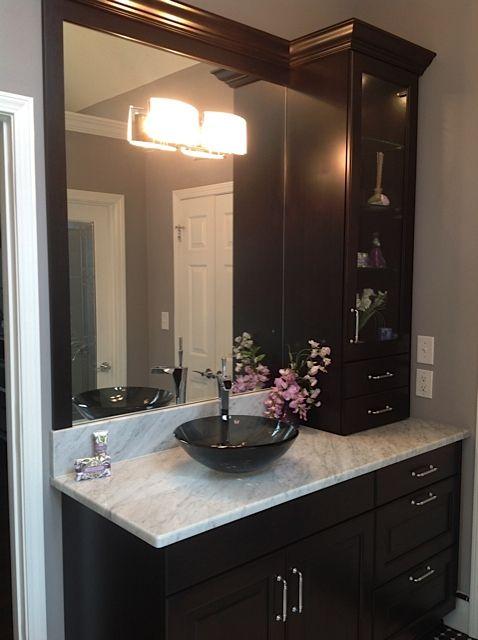 Best 7 Elegant Black And White Master Bath In Roswell Ga Ideas On Pinterest Bath Design
