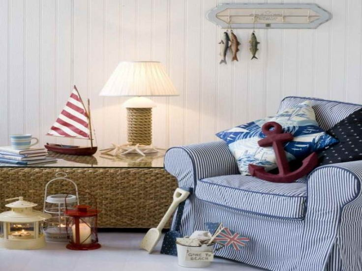 46 best Nautical Living Rooms images on Pinterest | Nautical ...