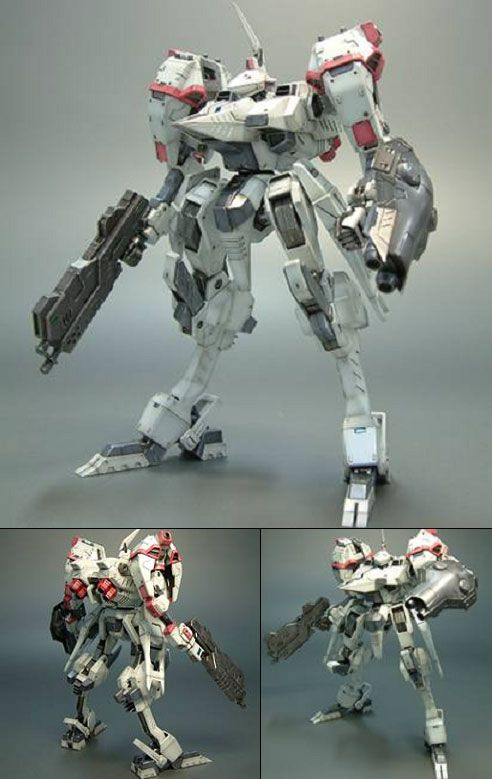AmiAmi [Character & Hobby Shop] | V.I. Series Armored Core Mirage YC07-CRONUS Vixen Ver. Plastic Kit