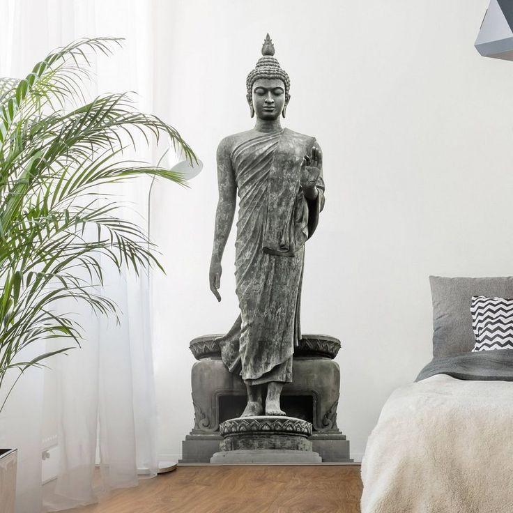 Die besten 25+ Wandtattoo buddha Ideen auf Pinterest Om mani - wohnzimmer ideen buddha