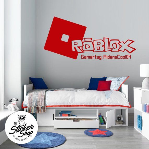 Roblox Decal Custom Gamertag Gamer Bedroom Roblox Room