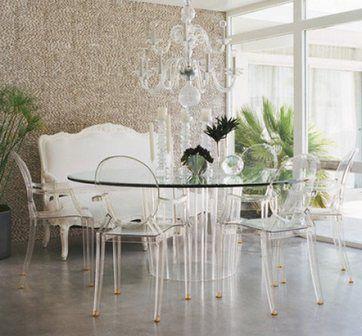 прозрачные стулья для кухни - Поиск в Google