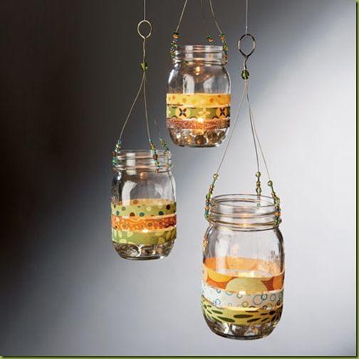 Mason jar light tutorial
