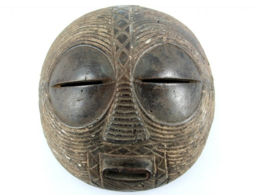"""Moon"" Luba mask  http://www.etnobazar.pl/shop/stanley/products/maska-luba-ksiezycowa-kongo-afryka-z-konga-afryki-art"