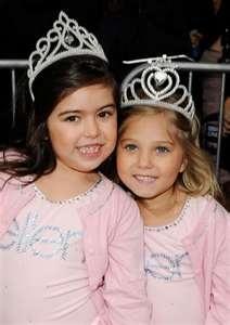 Sophia Grace & Rosie! These girls are always adorable when they are on Ellen! :)