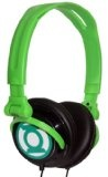 iHip DCF2400GL Classic Green Lantern Logo Hi-Fi Noise Reducing, Folding Headphones Black/Green -classic-green-lantern-logo-hi-fi-noise-reducing-folding-headphones-blackgreen