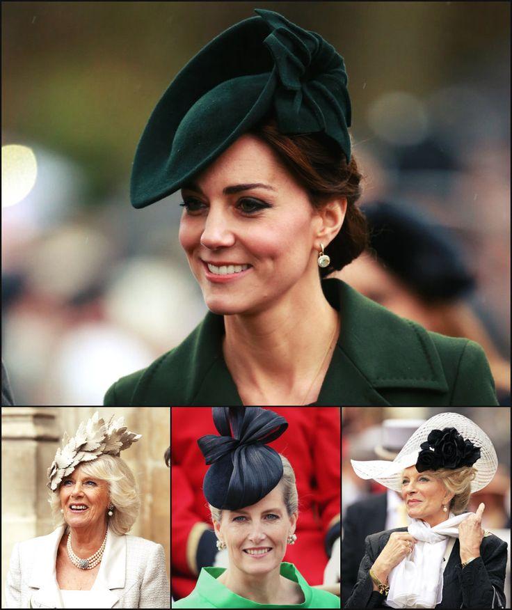 Fabulous Fascinators & Royal Hairstyles   Hairstyles 2017, Hair Colors and Haircuts