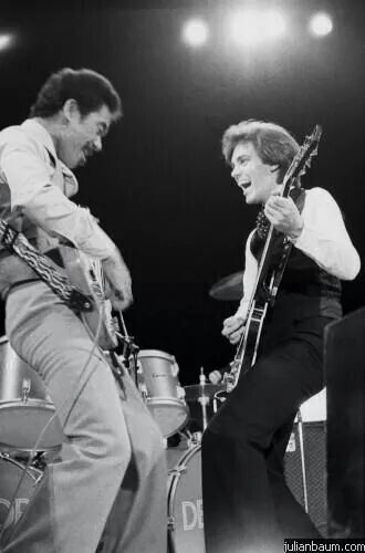 The late Charlie Tumahai, and guitarist/singer Bill Nelson, if one of my favorite bands, Be-Bop Deluxe.