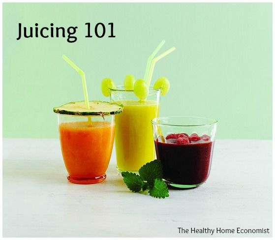 Everything you need to know to get started juicing. Why to do it, which juicers are best, and recipes to try. http://www.thehealthyhomeeconomist.com/juicing-101/
