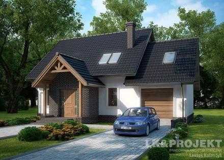 Projekty domów LK Projekt LK&1034 zdjęcie wiodące
