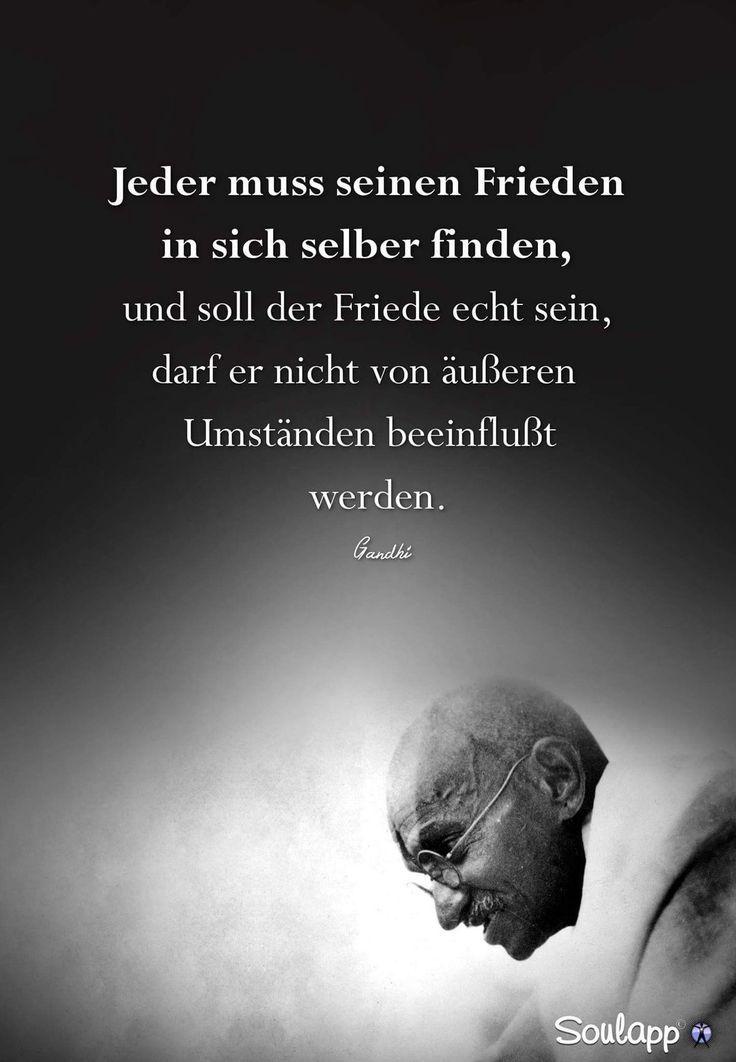 Leben Von Innen Nach Aussen Gandhi Zitate Weisheiten Zitate Lebensweisheiten Spruche