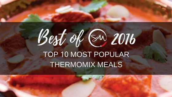 Looking back on the year that was 2016, we'd like to thank every single Skinnymixer that helped build the Skinnymixers community and shared our recipes with friends and family. Thank you for helping us make Skinnymixers so special and we look forward to sharing more healthy Thermomix recipes in 2017. These are the 'Top 10...Read More »