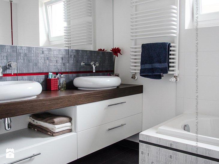 Łazienka styl Nowoczesny - zdjęcie od Studio Malina – Architekci &…