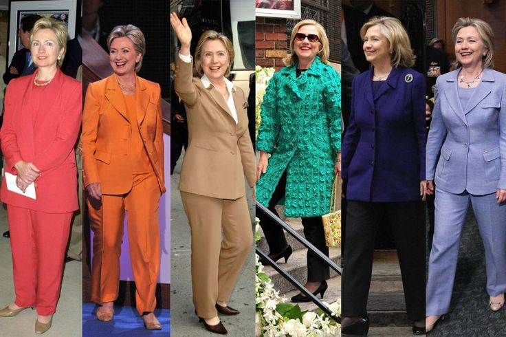 Hillary Clinton Style And Fashion (1)