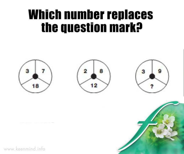 #ItsTheWeekendBaby and time for our #brainteaser. Do you know which number replaces the question mark? #SaturdayFun #Flordis #KeenMind