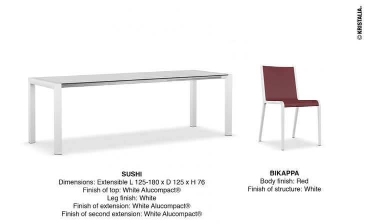 ‪#‎mondayidea‬ the best way to start the week: we'll recommend a combination made through our website. Make your own combination http://www.kristalia.it/ #diningtable #diningchair #interioridea #interiorinspiration