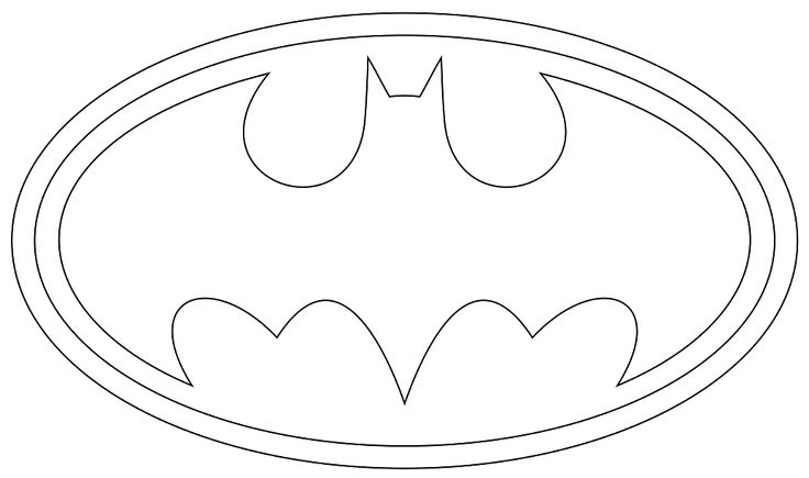 Bat Man Symbol Batman Coloring Pages Coloring Pages For